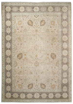 ik2706 - Classic Zeigler Rug (wool) - 9' x 12' | OAKRugs by Chelsea affordable wool rugs, handmade wool area rugs, wool and silk rugs contemporary