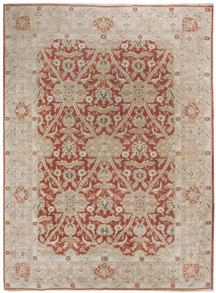 ik2709 - Classic Zeigler Rug (wool) - 9' x 12' | OAKRugs by Chelsea affordable wool rugs, handmade wool area rugs, wool and silk rugs contemporary