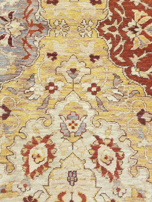 ik2716 - Oriental Amritza Rug (wool) - 9' x 12' | OAKRugs by Chelsea high end wool rugs, hand knotted wool area rugs, quality wool rugs
