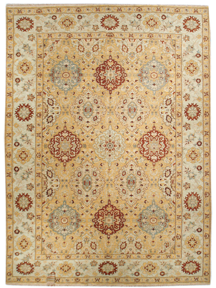 ik2716 - Oriental Amritza Rug (wool) - 9' x 12' | OAKRugs by Chelsea affordable wool rugs, handmade wool area rugs, wool and silk rugs contemporary