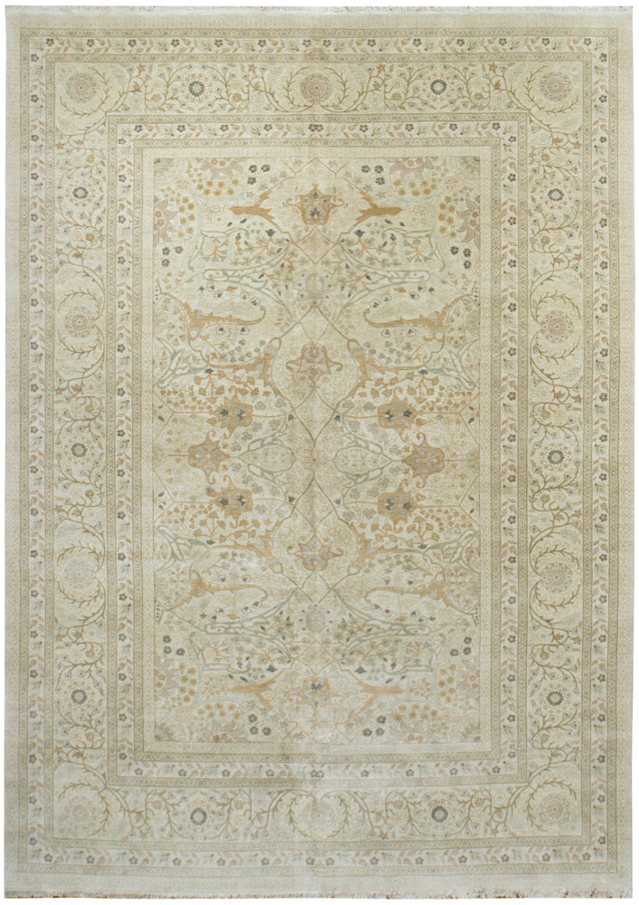 ik2730 - Classic Agra Rug (Wool) - 10' x 14' | OAKRugs by Chelsea high end wool rugs, hand knotted wool area rugs, quality wool rugs