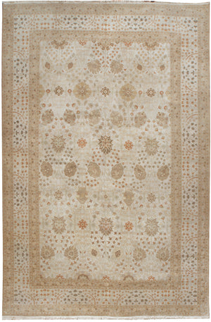 ik2732 - Classic Agra Rug (Wool) - 10' x 14' | OAKRugs by Chelsea affordable wool rugs, handmade wool area rugs, wool and silk rugs contemporary