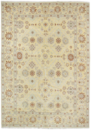 ik2744 - Classic Agra Rug (Wool) - 9' x 12' | OAKRugs by Chelsea affordable wool rugs, handmade wool area rugs, wool and silk rugs contemporary