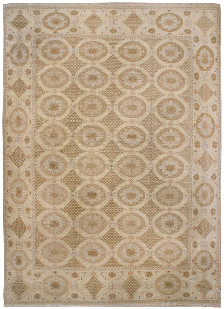 ik2755 - Classic High and Low Rug (Wool) - 8' x 10' | OAKRugs by Chelsea wool silk rugs contemporary, handmade modern wool rugs, wool silk area rugs contemporary