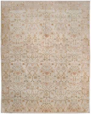 ik2762 - Classic Zeigler Rug (Silk) - 8' x 10' | OAKRugs by Chelsea high end wool rugs, hand knotted wool area rugs, quality wool rugs