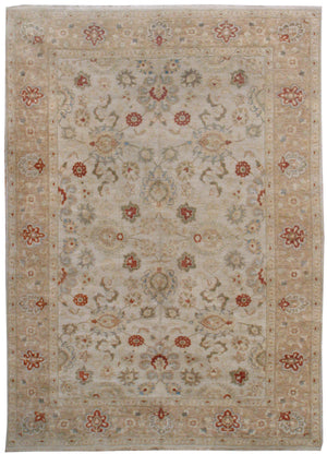 ik2767 - Classic Tabriz Rug (wool) - 9' x 12' | OAKRugs by Chelsea affordable wool rugs, handmade wool area rugs, wool and silk rugs contemporary