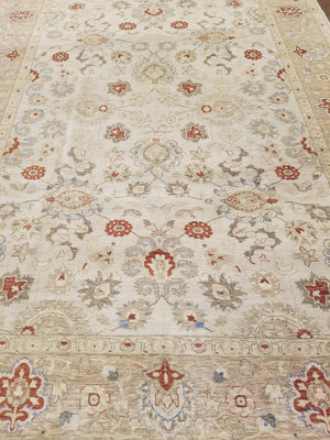 ik2767 - Classic Tabriz Rug (wool) - 9' x 12' | OAKRugs by Chelsea high end wool rugs, hand knotted wool area rugs, quality wool rugs