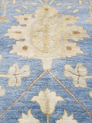 ik2777 - Classic Zeigler Rug (Wool and Silk) - 12' x 18' | OAKRugs by Chelsea high end wool rugs, hand knotted wool area rugs, quality wool rugs