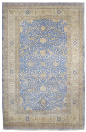 ik2777 - Classic Zeigler Rug (Wool and Silk) - 12' x 18' | OAKRugs by Chelsea affordable wool rugs, handmade wool area rugs, wool and silk rugs contemporary