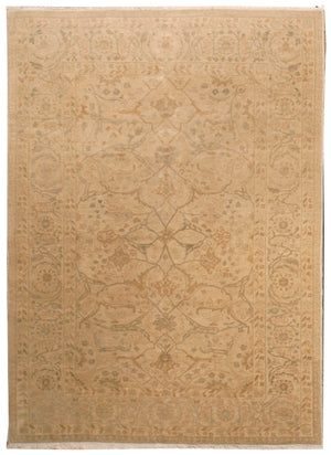 ik2779 - Classic Zeigler Rug (Wool) - 6' x 9' | OAKRugs by Chelsea affordable wool rugs, handmade wool area rugs, wool and silk rugs contemporary