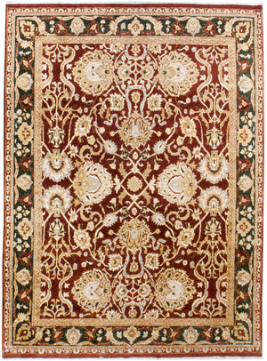 irj1116 - Vintage Oriental, Handknotted Wool Rug, (9' x 12') | OAKRugs by Chelsea high end wool rugs, good quality rugs, vintage and antique, handknotted area rugs