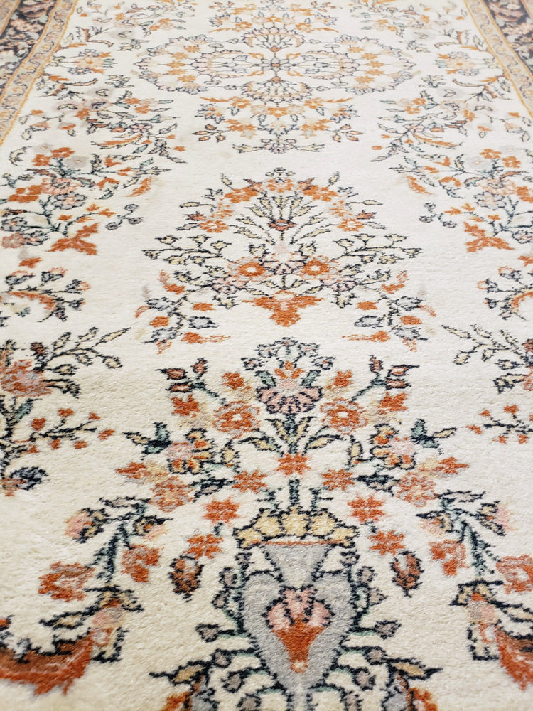 irj1119 - Vintage Oriental, Handknotted Wool Rug, (3' x 6') | OAKRugs by Chelsea high end wool rugs, good quality rugs, vintage and antique, handknotted area rugs