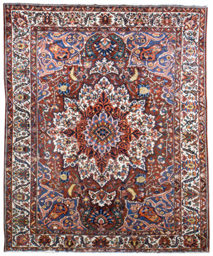 irj1122 - Vintage Oriental, Handknotted Wool Rug, (10' x 14') | OAKRugs by Chelsea high end wool rugs, good quality rugs, vintage and antique, handknotted area rugs