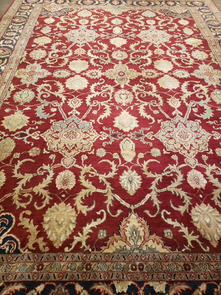 irj1127 - Vintage Oriental, Handknotted Wool Rug, (10' x 14') | OAKRugs by Chelsea high end wool rugs, good quality rugs, vintage and antique, handknotted area rugs