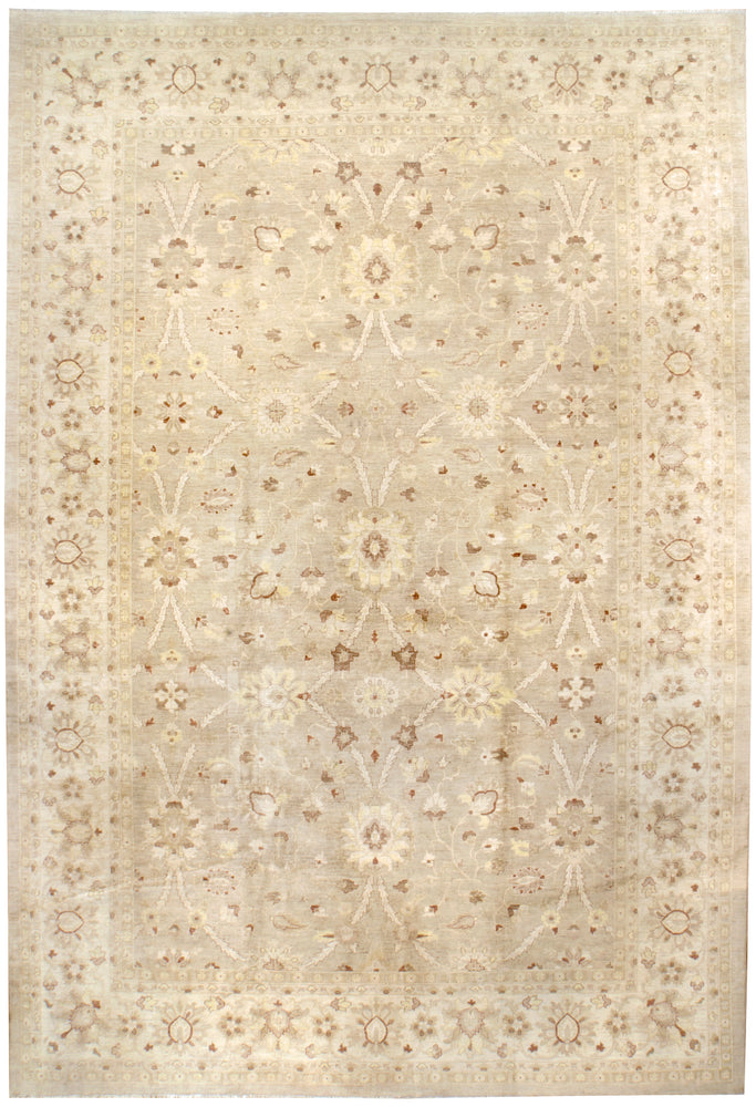irj1134 - Oushak, Handknotted Wool Rug, (12' x 18') | OAKRugs by Chelsea high end wool rugs, good quality rugs, vintage and antique, handknotted area rugs