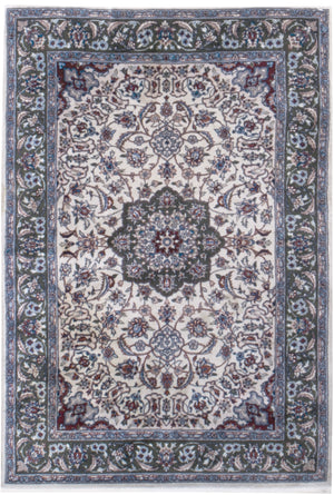 irj1137 - Vintage Oriental, Handknotted Wool Rug, (4' x 6') | OAKRugs by Chelsea high end wool rugs, good quality rugs, vintage and antique, handknotted area rugs