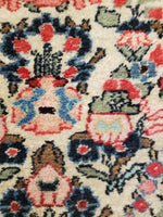 irj1138 - Vintage Oriental, Handknotted Wool Rug, (2' x 4') | OAKRugs by Chelsea high end wool rugs, good quality rugs, vintage and antique, handknotted area rugs