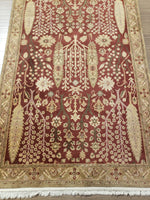 irj1139 - Vintage Oriental, Handknotted Wool Rug, (4' x 6') | OAKRugs by Chelsea high end wool rugs, good quality rugs, vintage and antique, handknotted area rugs