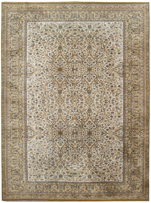irj1140 - Vintage Oriental, Handloomed Wool Rug, (8' x 11') | OAKRugs by Chelsea high end wool rugs, good quality rugs, vintage and antique, handknotted area rugs