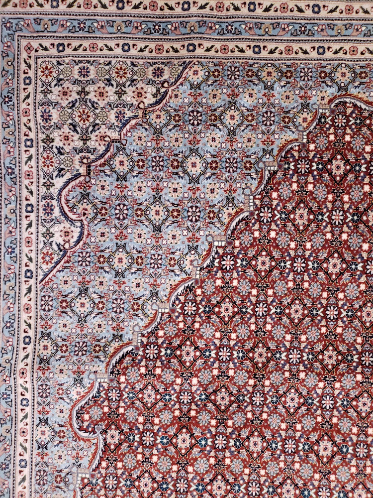 irj1149 - Vintage Oriental, Handknotted Wool Rug, (10' x 14') | OAKRugs by Chelsea high end wool rugs, good quality rugs, vintage and antique, handknotted area rugs