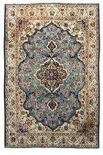 irj1150 - Vintage Oriental, Handknotted Wool Rug, (5' x 8') | OAKRugs by Chelsea high end wool rugs, good quality rugs, vintage and antique, handknotted area rugs