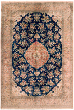 irj1152 - Vintage Oriental, Handknotted Silk Rug, (7' x 10') | OAKRugs by Chelsea high end wool rugs, good quality rugs, vintage and antique, handknotted area rugs