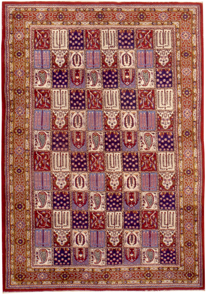 irj1153 - Vintage Oriental, Handknotted Wool Rug, (7' x 10') | OAKRugs by Chelsea high end wool rugs, good quality rugs, vintage and antique, handknotted area rugs