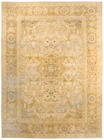 irj1155 - Vintage Distressed, Handknotted Wool Rug, (9' x 12') | OAKRugs by Chelsea high end wool rugs, good quality rugs, vintage and antique, handknotted area rugs