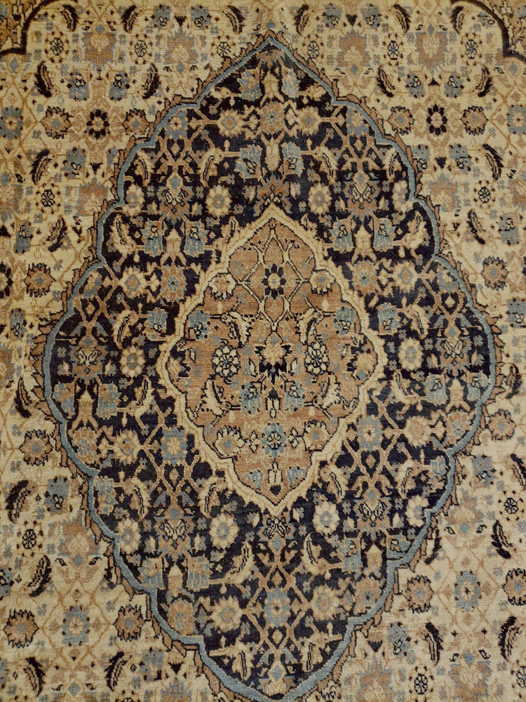 irj1158 - Antique Haj Jalili, Handknotted Wool Rug, (9' x 12') | OAKRugs by Chelsea high end wool rugs, good quality rugs, vintage and antique, handknotted area rugs