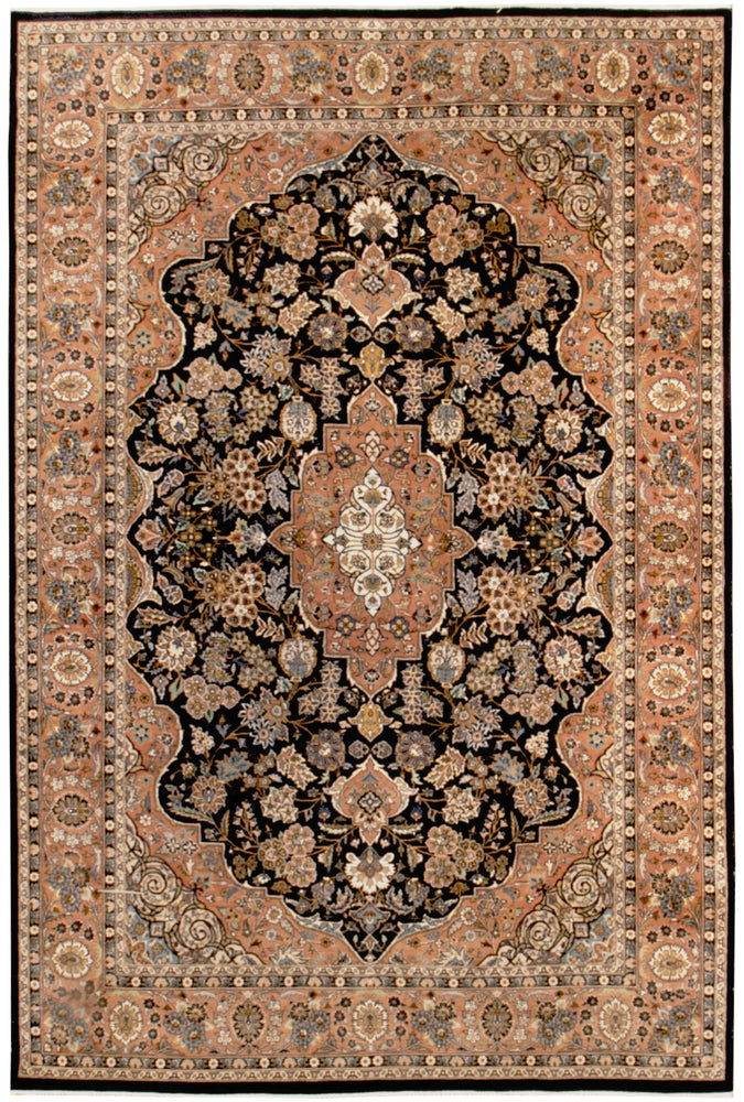 irj1159 - Vintage Oriental, Handknotted Wool Rug, (6' x 9') | OAKRugs by Chelsea high end wool rugs, good quality rugs, vintage and antique, handknotted area rugs