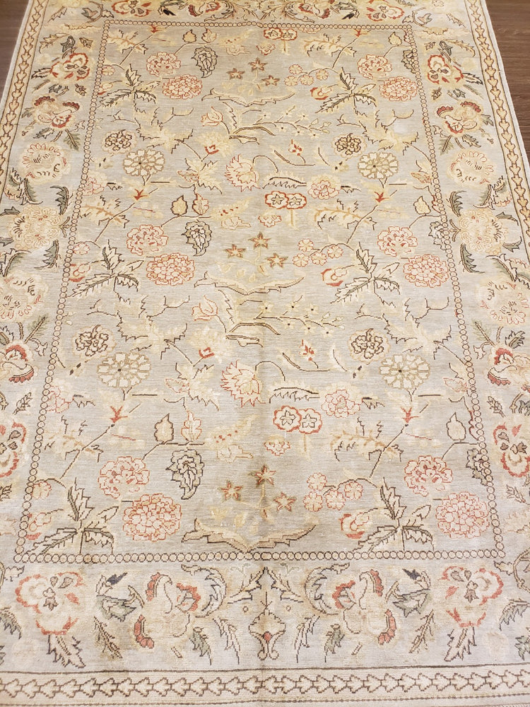 k1017 - Classic Besserebian Rug (Silk) - 5' x 7' | OAKRugs by Chelsea high end wool rugs, hand knotted wool area rugs, quality wool rugs