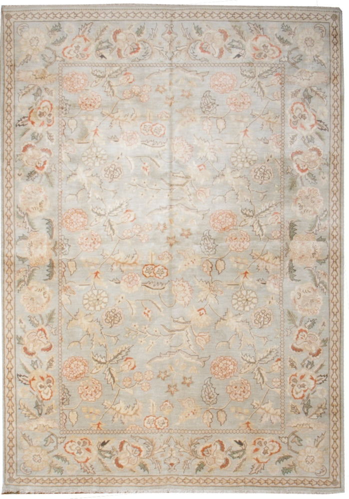 k1017 - Classic Besserebian Rug (Silk) - 5' x 7' | OAKRugs by Chelsea affordable wool rugs, handmade wool area rugs, wool and silk rugs contemporary