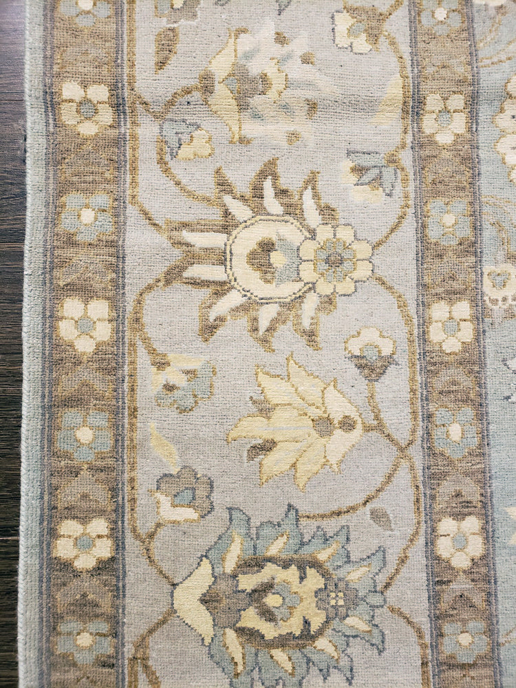 k5004 - Transitional Tabriz Rug (Wool and Silk) - 8' x 10' | OAKRugs by Chelsea high end wool rugs, hand knotted wool area rugs, quality wool rugs