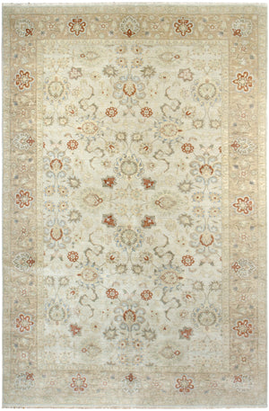 k900 - Classic Zeigler Rug (Wool) - 10' x 15' | OAKRugs by Chelsea affordable wool rugs, handmade wool area rugs, wool and silk rugs contemporary