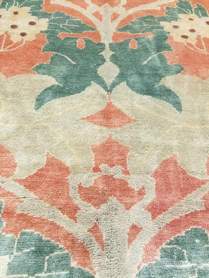 n1021 - Transitional Arts and Crafts Rug (Wool) - 9' x 12' | OAKRugs by Chelsea high end wool rugs, hand knotted wool area rugs, quality wool rugs