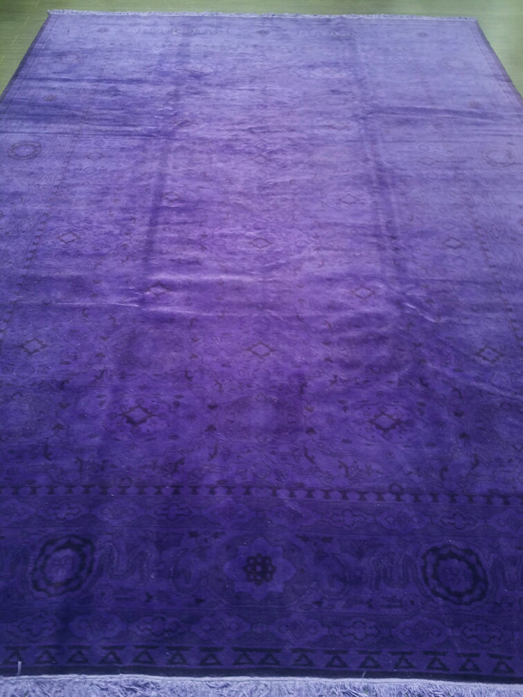 n10839 - Transitional Overdye Rug (wool) - 9' x 12' | OAKRugs by Chelsea handcrafted overdye rugs, handmade overdyed rugs, high quality overdyed area rugs