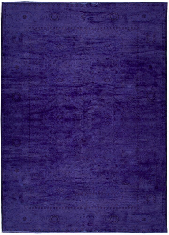 n10839 - Transitional Overdye Rug (wool) - 9' x 12' | OAKRugs by Chelsea contemporary overdye rugs, modern overdyed wool rugs, high quality overdyed rugs
