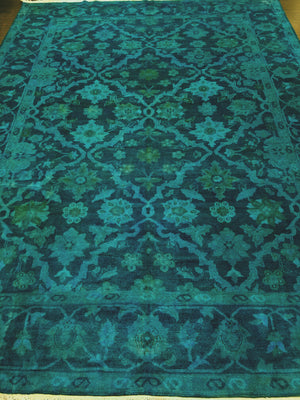 n11033 - Transitional Overdye Rug (wool) - 9' x 12' | OAKRugs by Chelsea handmade wool overdyed rugs, handcrafted wool overdye rugs, affordable wool overdyed rugs