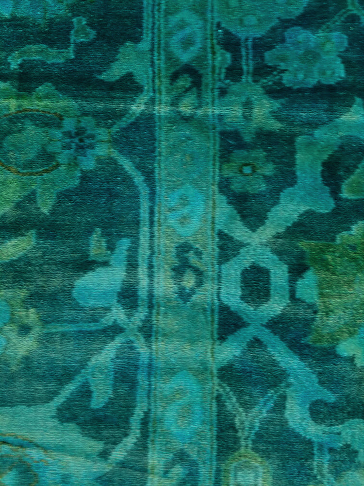 n11033 - Transitional Overdye Rug (wool) - 9' x 12' | OAKRugs by Chelsea handcrafted overdye rugs, handmade overdyed rugs, high quality overdyed area rugs