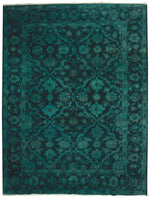 n11033 - Transitional Overdye Rug (wool) - 9' x 12' | OAKRugs by Chelsea contemporary overdye rugs, modern overdyed wool rugs, high quality overdyed rugs