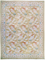 n115 - European Besserebian Rug (Wool) - 10' x 14' | OAKRugs by Chelsea affordable wool rugs, handmade wool area rugs, wool and silk rugs contemporary