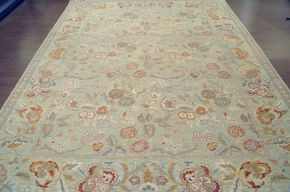 n129 - European Besserebian Rug (Wool) - 8' x 10' | OAKRugs by Chelsea high end wool rugs, hand knotted wool area rugs, quality wool rugs