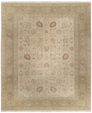 n132 - Classic Tabriz Rug (Wool) - 12' x 15' | OAKRugs by Chelsea affordable wool rugs, handmade wool area rugs, wool and silk rugs contemporary