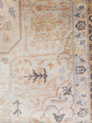 n1394 - Classic Tabriz Rug (wool) - 8' x 10' | OAKRugs by Chelsea high end wool rugs, hand knotted wool area rugs, quality wool rugs