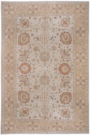 n149 - Classic Zeigler Rug (Wool) - 10' x 14' | OAKRugs by Chelsea affordable wool rugs, handmade wool area rugs, wool and silk rugs contemporary