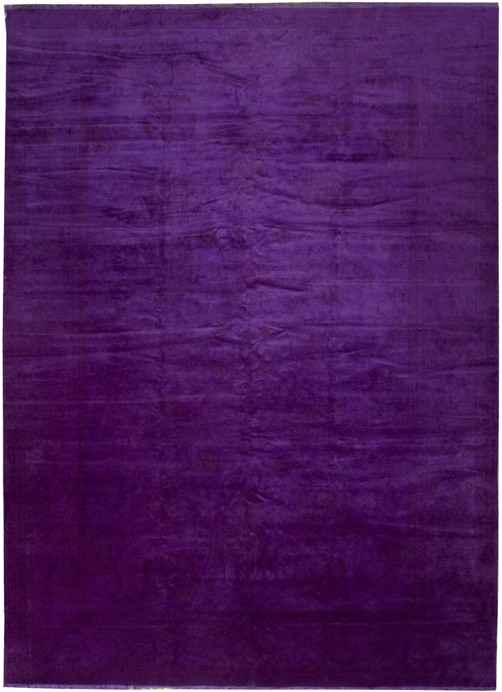n151 - Transitional Overdye Rug (Wool) - 10' x 14' | OAKRugs by Chelsea contemporary overdye rugs, modern overdyed wool rugs, high quality overdyed rugs