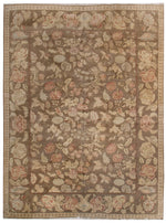 n160 - European Besserebian Rug (Wool) - 9' x 12' | OAKRugs by Chelsea affordable wool rugs, handmade wool area rugs, wool and silk rugs contemporary