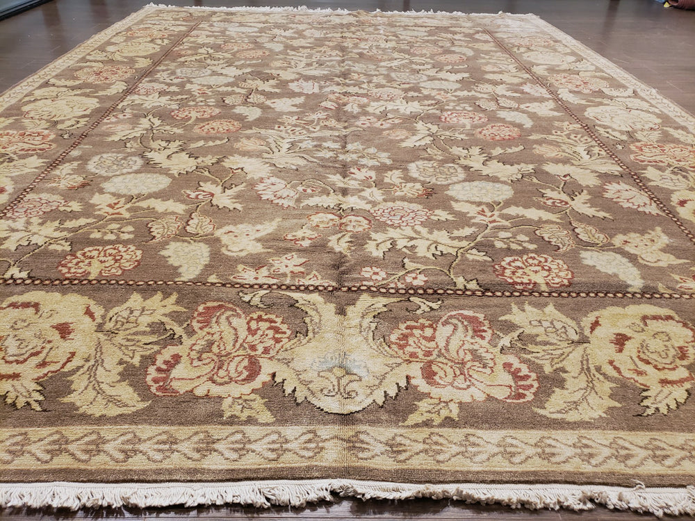 n160 - European Besserebian Rug (Wool) - 9' x 12' | OAKRugs by Chelsea high end wool rugs, hand knotted wool area rugs, quality wool rugs