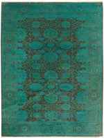 n169 - Transitional Overdye Rug (Wool) - 10' x 14' | OAKRugs by Chelsea contemporary overdye rugs, modern overdyed wool rugs, high quality overdyed rugs