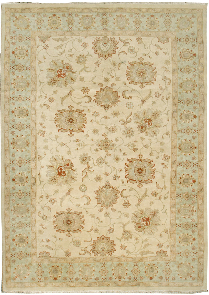 n184 - Classic Zeigler Rug (Wool) - 8' x 10' | OAKRugs by Chelsea affordable wool rugs, handmade wool area rugs, wool and silk rugs contemporary